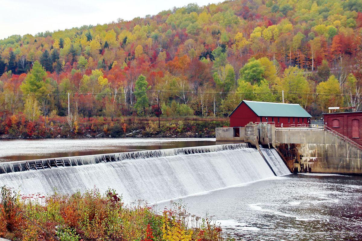 Small River Dam