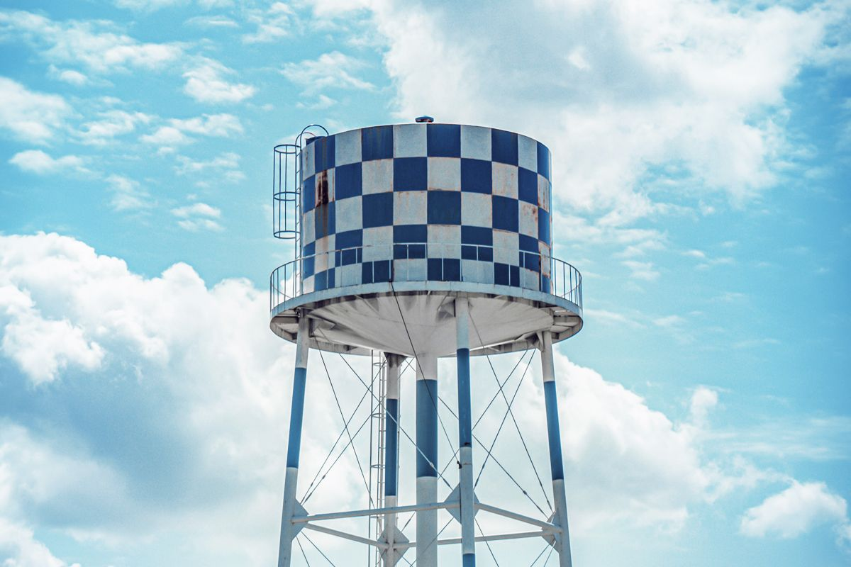Water Towers with Pump