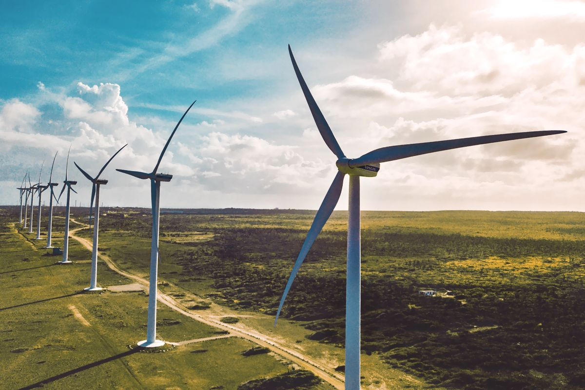 Wind Farm Lithuania