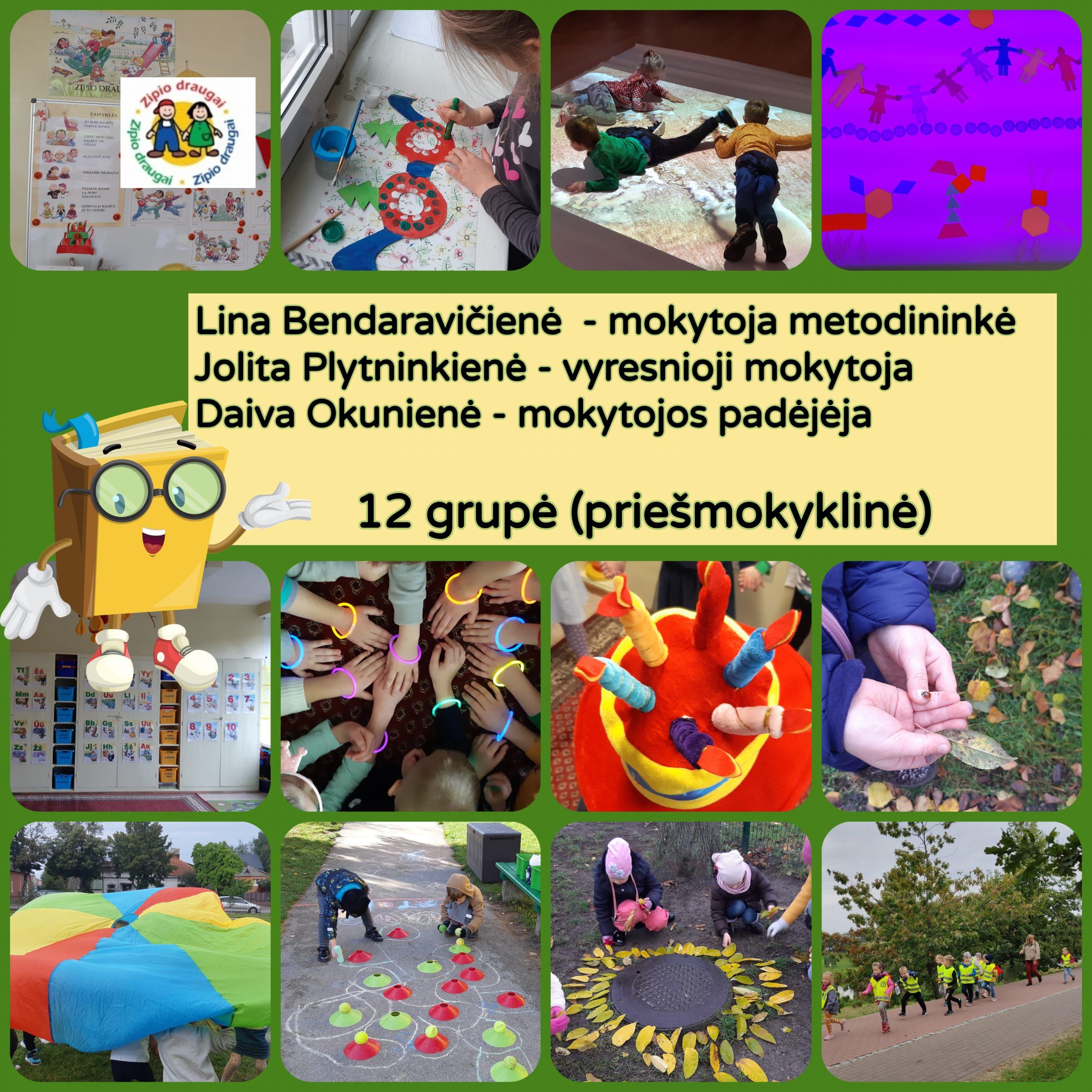 12 grupė (priešmokyklinė)